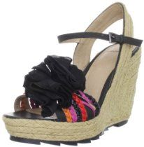 Bronx Women's Charm Ming Ankle Wrap Sandal From Bronx - Bags or Shoes Shop