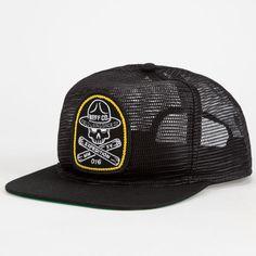 2d0097eb631 NEFF Field Mens Trucker Hat - BLACK - 15F00017-BLK
