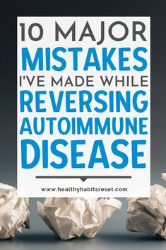 It's been over a decade since my diagnosis, but I've finally found healing from my autoimmune issues. Here are all the common mistakes I made that slowed down my progress. #autoimmunediseasetips #livingwellwithautoimmunedisease #chronicillnesslivingtips Celiac Disease Treatment, Celiac Disease Diagnosis, Autoimmune Disease Awareness, Chronic Disease Management, Pain Management, Chronic Fatigue Treatment, Chronic Illness Quotes, Thyroid Symptoms