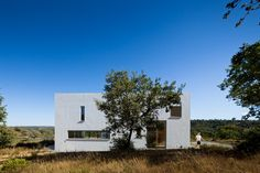 House Paixão in Arrifoias, Odemira. Designed by Vitor Vilhena