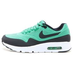 NEW Nike Air Max 1 Ultra Moire Mens 705297-301 Menta Green Running Shoes SZ  8.5