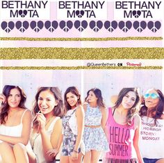 "Hey beautifuls xx THIS EDIT TOOK ME SO LONG !!! Im actually extremely proud of how it turned out! Btw, any of the clothes that Bethany is wearing can be purchased at Aeropostale starting TODAY !! :D Anywayssss... I started realizing that my edits could be posted on some other social media (like Instagram,Twitter,Tumblr, etc. So, my watermark is now ""@QueenBethers on Pinterest"" so people know that my account is on PINTEREST!!! :)) I love you guys so much and tysm for 800+! Xoxo, S"