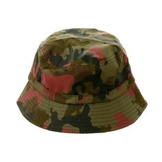037966c5b08 DC Shoes Dog Camo Bucket Hat Camo ( 22) ❤ liked on Polyvore featuring hats