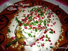 ¿Gusta Usted? Celebrando en el mes de la Patria. ¡Viva México!: Chiles en Nogada. Cómo hacer Chiles en nogada. Receta