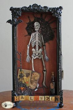 Tim Holtz Haunted House how-to