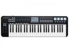 Controlador MIDI/USB 49 Teclas - Samson Graphite 49