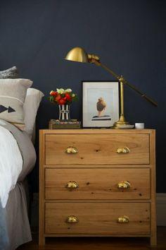 Love this DIY wooden dresser.