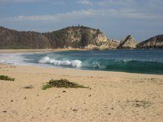 colola beach, michoacan, mexico