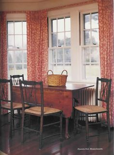 Hyannis Port: the dining room Jackie O's, Jacqueline Kennedy Onassis, Jackie Kennedy, Hyannis Massachusetts, Kennedy Compound, Hyannis Port, Colonial America, Jfk
