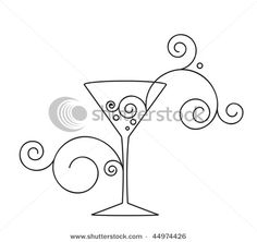martini glass cocktail glass clip art cocktails pinterest cocktail glass martinis and. Black Bedroom Furniture Sets. Home Design Ideas