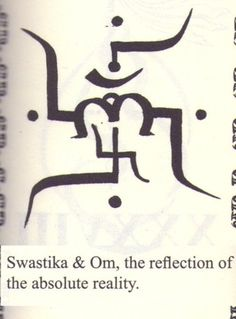 swastika and om