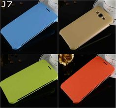 Fashion official Book Simple PU Leather Flip skin Cover case For Samsung Galaxy J7 J700 J7000 SM-J700F with stylus pen