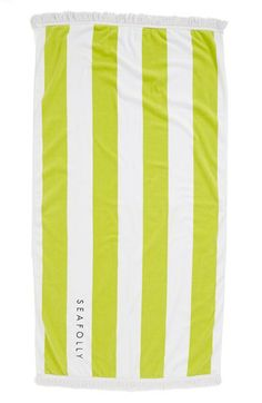Seafolly 'Splash' Velour & Terry Towel | Nordstrom