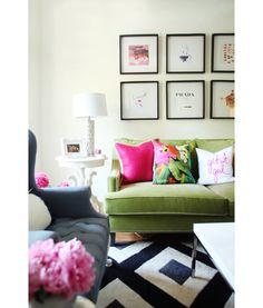 Geef je interieur kleur met een bank die eruit springt