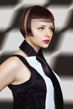Futuristic silver Bob-pin it from carden Medium Hair Cuts, Short Hair Cuts, Short Hair Styles, Haircuts For Long Hair, Bob Hairstyles, Futuristic Hair, Haircut For Big Forehead, Bob Hair Color, Hair Academy