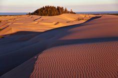 Sunrise, Oregon Dunes - cool shadows