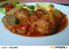Food 52, Pork Recipes, Ground Beef, Food And Drink, Menu, Chicken, Cooking, Meatball, Sweets