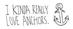 I kinda really love anchors!