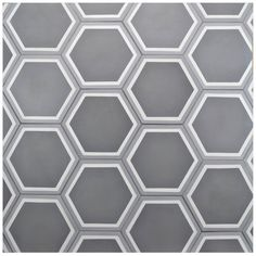Merola Tile Cemento Hex Holland Strait In X In Cement - Encaustic tile home depot