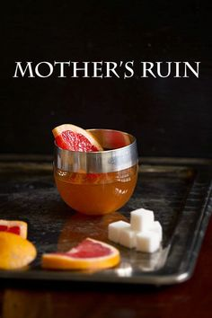 Holiday Cocktails: Mother's Ruin – My Christmas Punch