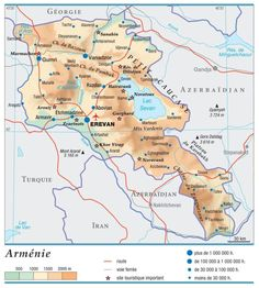 Armenia, Map, Travel, Countries Of The World, Asia, Cards, Viajes, Location Map, Destinations