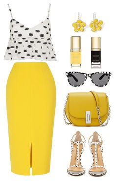 """""""Polka dot"""" by bliznec ❤ liked on Polyvore featuring L.K.Bennett, Thakoon, Chinese Laundry, Mixit and Dolce&Gabbana"""