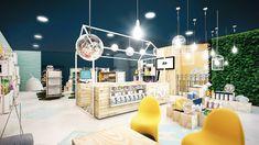 Shop Interior Design, Store Design, Pet Store, Interiores Design, Graphic Design, Deco, Architecture, Behance, Industrial
