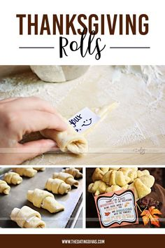 Thanksgiving rolls! Free Printables, Stuffed Mushrooms, Rolls, Thanksgiving, Vegetables, Breakfast, Recipes, Crafts, Food