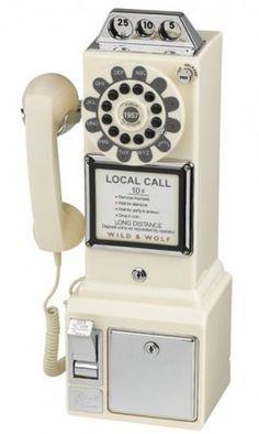 Retro Phones   Diner 1950's Phone Cream