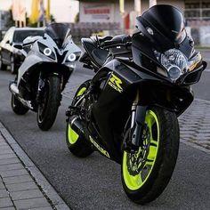 Suzuki GSXR & Yamaha R6