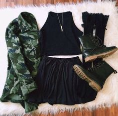 teen clothes for school,teen fashion outfits,cheap boho clothes Fashion Mode, Skirt Fashion, Teen Fashion, Womens Fashion, Grunge Outfits, Tumblr Outfits, Dress Outfits, Girl Outfits, Fashion Outfits
