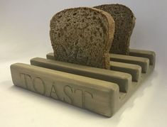 If you have ever wondered what to use for toast, that looks presentable on a table when serving your family or guests breakfast, then this would be ideal. Square Pizza, A Table, Toast, Kitchen, Cooking, Kitchens, Cuisine, Cucina