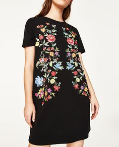 Image 6 of PRINTED RUBBERISED DRESS from Zara