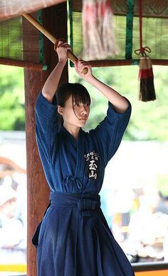 """Iaido - This is a """"soft"""" martial art. Basically Iaido consists of learning """"To Draw The Sword"""". It's harder than it looks and you haven't felt pain until you've been whacked on the arms with a bokken! Aikido Martial Arts, Martial Arts Women, Martial Artists, Kendo, Japanese Culture, Japanese Girl, Bushido, Female Samurai, Marshal Arts"""