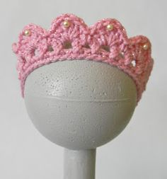 Oodles4Noodles: Cai's Birthday Tiara ~ Free Pattern