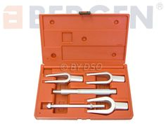 0ae406da8 BERGEN Professional Trade Quality 5 Piece Tie Rod Ball Joint Pitman Arm  Tool Kit