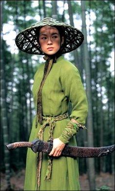 "Zhang Ziyi - ""House of the Flying Daggers"" (2004) - Costume designer : Emi Wada"