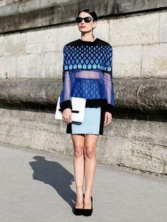 Leila Yavari futuristic look