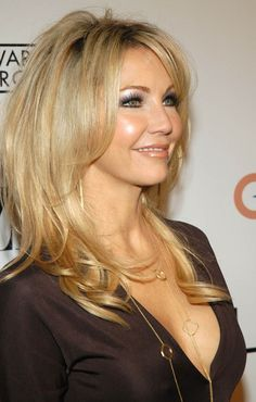 Heather Locklear - LOVED her hair here!