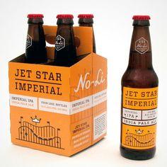 No-Li 4-pack Imperial IPA packaging designed by Riley Cran.