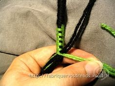 Fabriquer vos dreads :: Atebas (technique, photos, infos...)