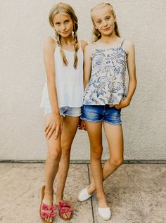 me.u Summer – Preteen Preteen Girls Fashion, Summer Fashion For Teens, Teen Girl Outfits, Tween Girls, Kids Fashion, Fashion Images, Teen Summer, Teenage Outfits, Fashion Fashion