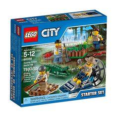 LEGO City 60066 Swamp Police Starter Set New/Sealed!! 78pcs Ages 5-12 Cool!!  #LEGO