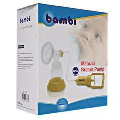 Pompa Asi Bambi Manual Breast Pump Pull Handle - http://www.adorababyshop.co/?post_type=product&p=25764