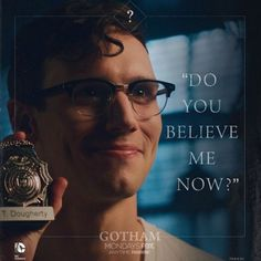 """Ed's just like a kid at Show and Tell… 
