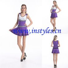 Free pp Adult High School LQZ036 Purple Cheerleader Outfit Fancy Dress Costume Ladies Uniform(China  sc 1 st  Pinterest & 14 best Costume images on Pinterest | Cheerleader costume Costume ...