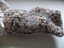 Cocoon Merinowolle Pucksack Baby gestrickt Wolle