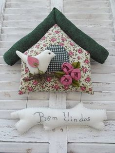 little house in fabric