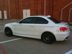 Wheels: VMR 710 18x8.5 front +45  18x9.5 rear +50 Diamond Graphite Powdercoat Finish  Tires: Hankook V12 225x40x18 front 255x35x18 rear  Suspension: BMW Performance