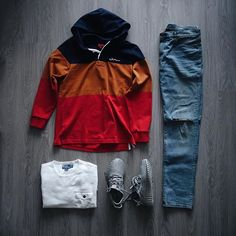 Outfit grid - Just chillin'